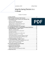 Ch04 - Optimizing the Saving Decision in a Growth Model