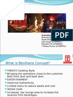 Benihana Case Study_Group3