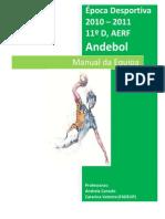 51758140 Manual de Equipa Andebol 11ºD