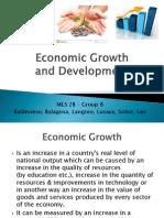 MLS 2B Economic Growth and Development REVISED