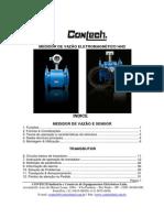 CONTECH-manual Do Medidor de Vazao Eletromagnetico