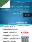 Java Media Framework Presentation