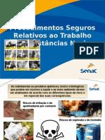 Procedimentos seguros relativos ao trabalho com substâncias nocivas.ppt