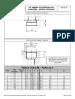 DR-25 Tabela Referência Para Conexões - Roscas Especiais - Rev00!17!02-15