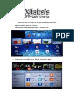 Manual Del Usuario de Aplicacion Smart IPTV