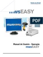Manual Do Usuário - Software - Operação MWS_EASY