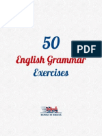 50 English Grammar Exercises DEMO