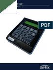 MT 720- MT 720 Manual Do Usuário Versão 1.2