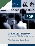 China's Debt Dilemma