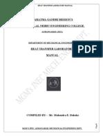 HT Lab Manual