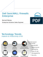 7. Dell SonicWall Firewall Enterprise Customer Technical Presentation