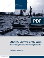 Ending Libya's Civil War