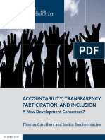 Accountability, Transparency, Participation, and Inclusion
