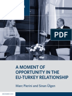 A Moment of Opportunity in the EU-Turkey Relationship