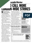 Call More London Strikes II