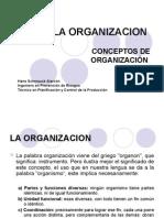 1.- LA ORGANIZACION (1)