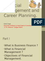 Financial Management and Careers in Finance