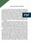 entrevista a J. P. VERNANT