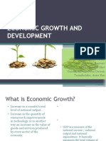 MLS 2-F Group 8. Economic Growth and Development