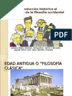 Breve Introducción Histórica Al Desarrollo de La Filosofía