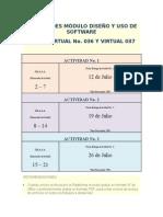 ACTIVIDADES MÓDULOdiseño y Uso de Software-edgar