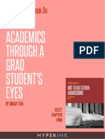 The Best Book on Mit Grad School Admissions Sample