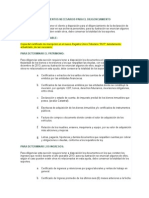 Documentos Necesarios Para El Diligenciamiento Renta 2013