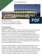 L'Italia Senza Più Memoria - Inchieste - La Repubblica
