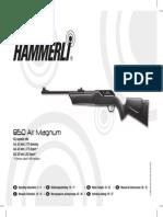 Manual Airgun Hammerli 850 Airmagnum