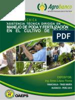 Agrobanco - Manejo de Poda y Fertilización en El Cultivo de Cacao