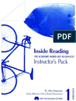 Oxford - Inside Reading 1 Instructors Pack