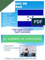 Teoria. Estado de Honduras