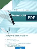 Business Plan - Sc Proficient Cleaners SRL