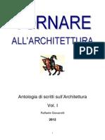 TORNARE ALL'ARCHITETTURA