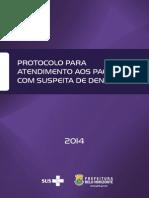 Protocolo Dengue 2014