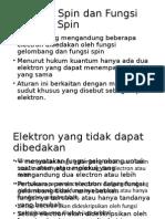 Elektron Spin Dan Fungsi Electron Spin