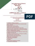LAMPEA-Doc 2015 – numéro 8 / Jeudi 19 mars 2015