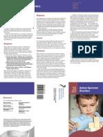 autism brochure