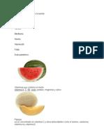 Vitaminas e Imagenes