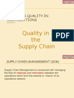 Session 9 - Quality in the Supply Chain
