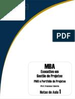 Notas de Aula - PMO e Portfólio de Projetos - Francisco Taborda
