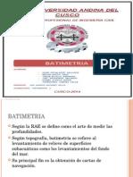 Expo Batimetria