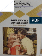 Sous Un Ciel de Velours - Anne Hampson