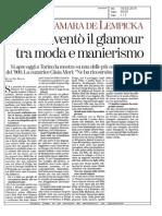 Tamara De Lempicka (in mostra a Torino)