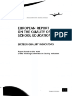 Sixteen Quality Indicators 2000