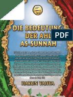 Die Bedeutung Der Ahl as-sunnah