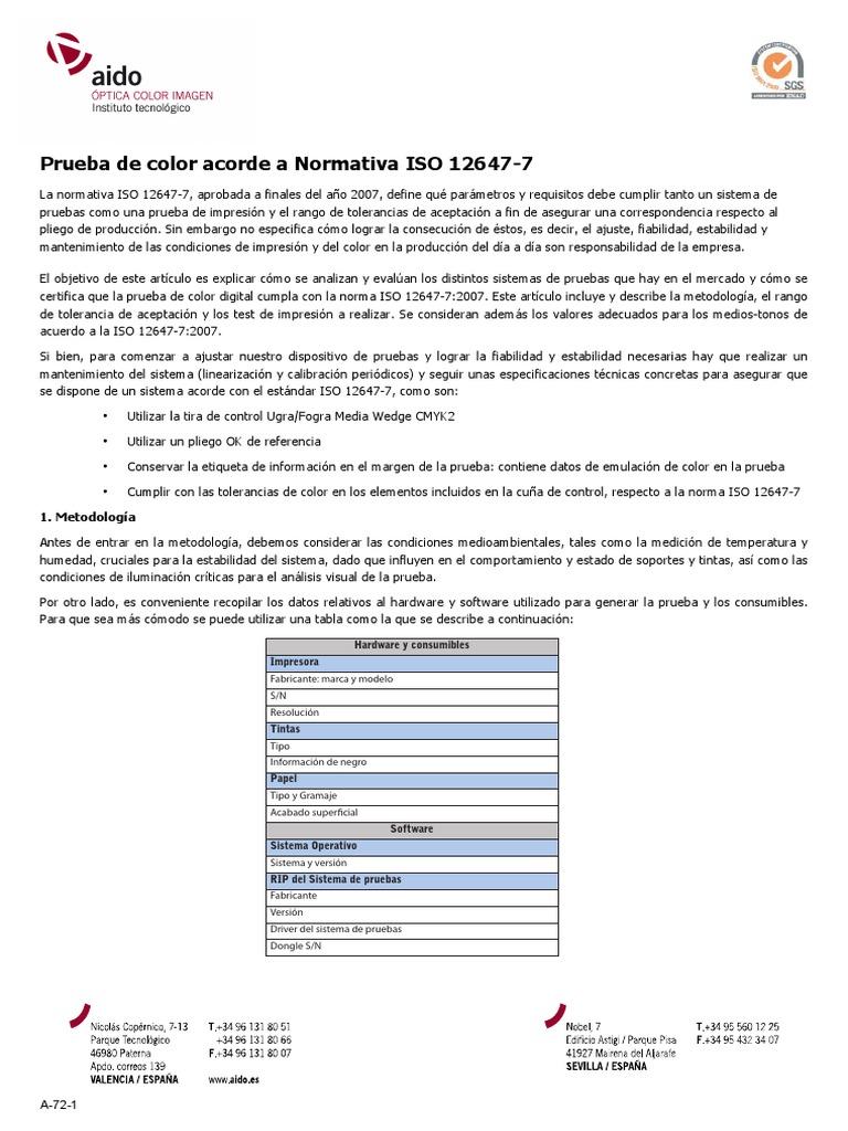 Atractivo Página De Prueba De Color De Inyección De Tinta Patrón ...