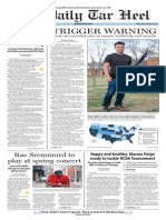 The Daily Tar Heel for March 18, 2015