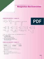 Álgebra Linear - 8ª Edição [Respostas]