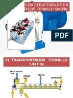 Diseño de Caja Reductora de Un Transportador Tornillo